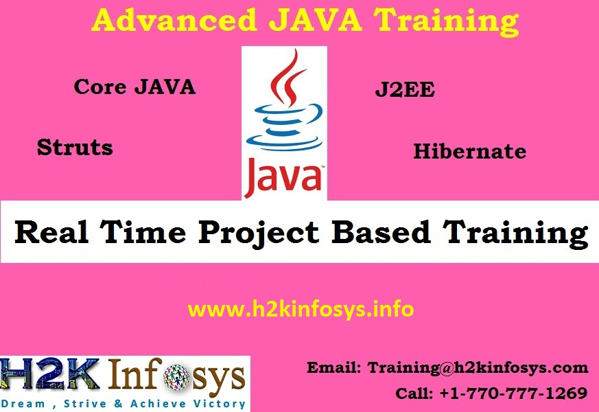 Java Online Training Course with Certification