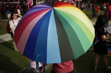 Foreigners not welcomed to Singapore's Gay Rally